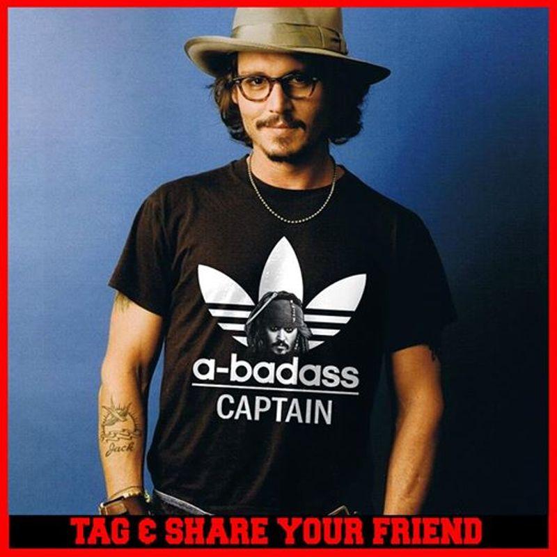 A Badass Captain T-shirt Black C2
