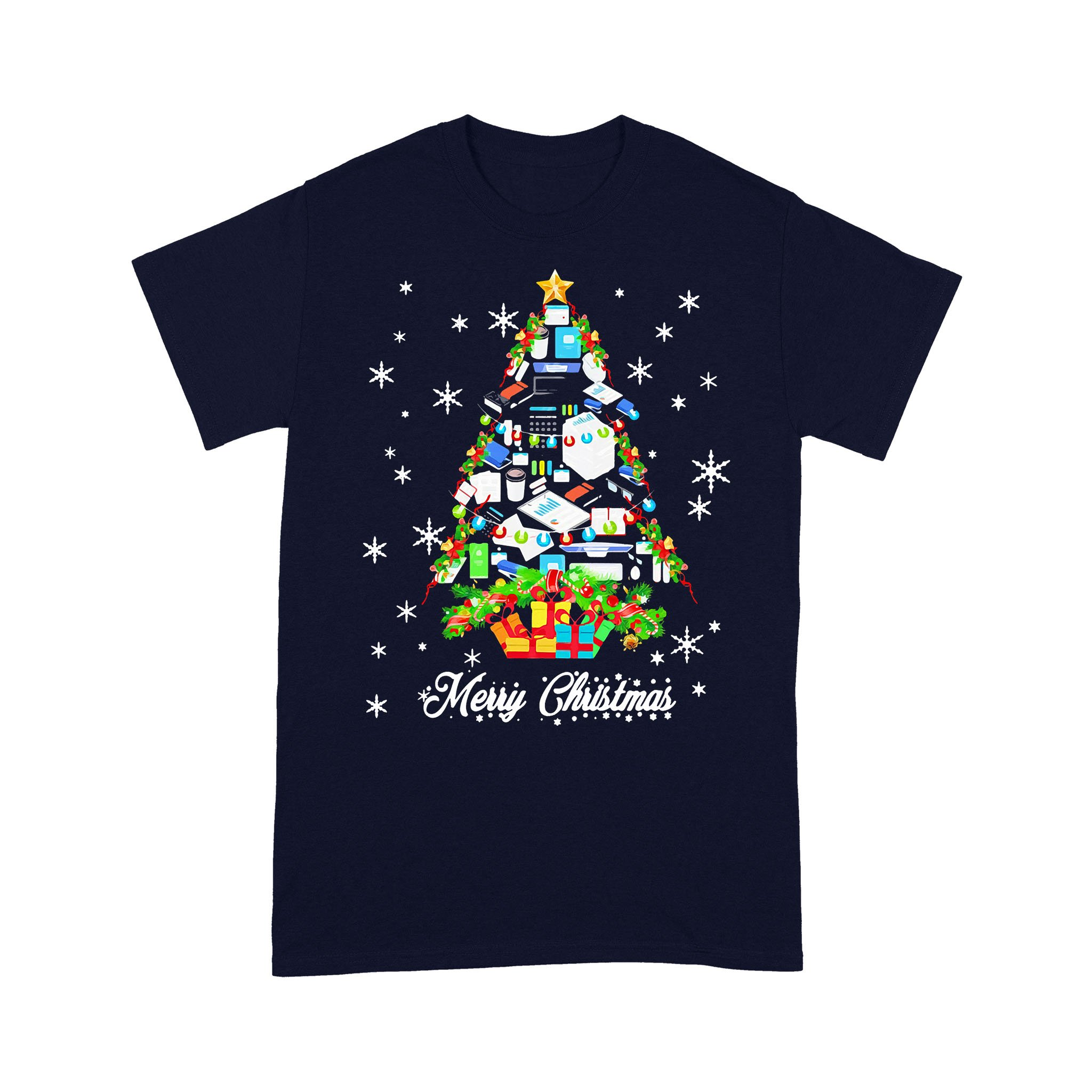 Accountant Merry Christmas T-shirt