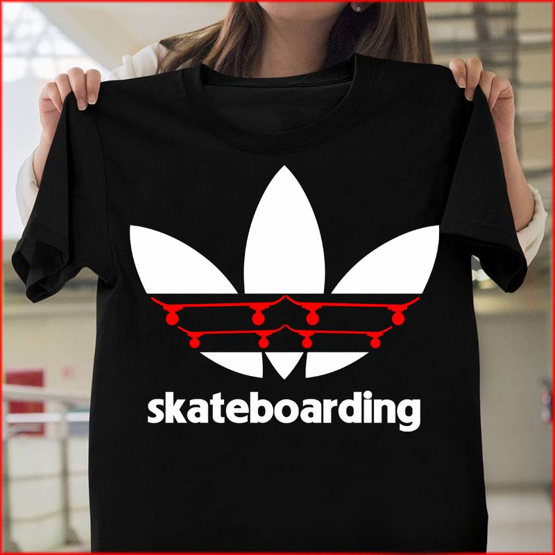Adidas Skateboarding T-shirt Black B4