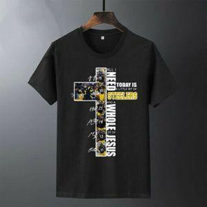 All I Need Today Is A Little Bit Of Steelers Whole Lot Of Jesus Signatures Cotton T Shirt Mens And Womens Clothing S-6Xl
