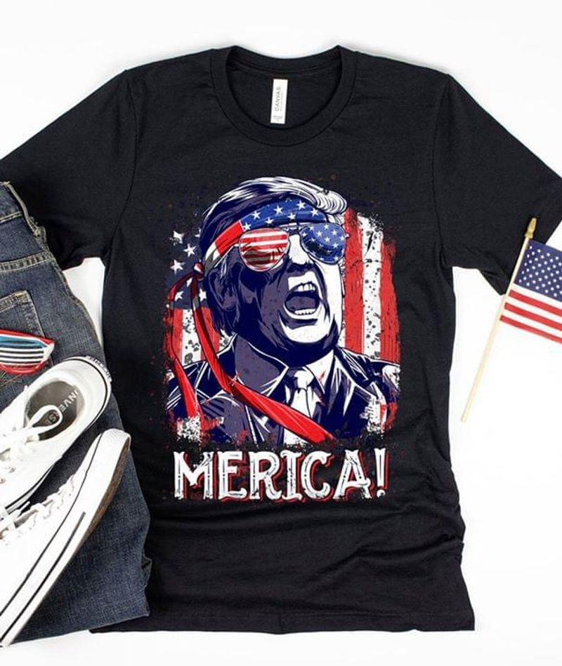 America Donald Trump Independence Day July 4, Is A Federal Holiday To Commemorate Black  T Shirt Men/ Woman S-6XL Cotton