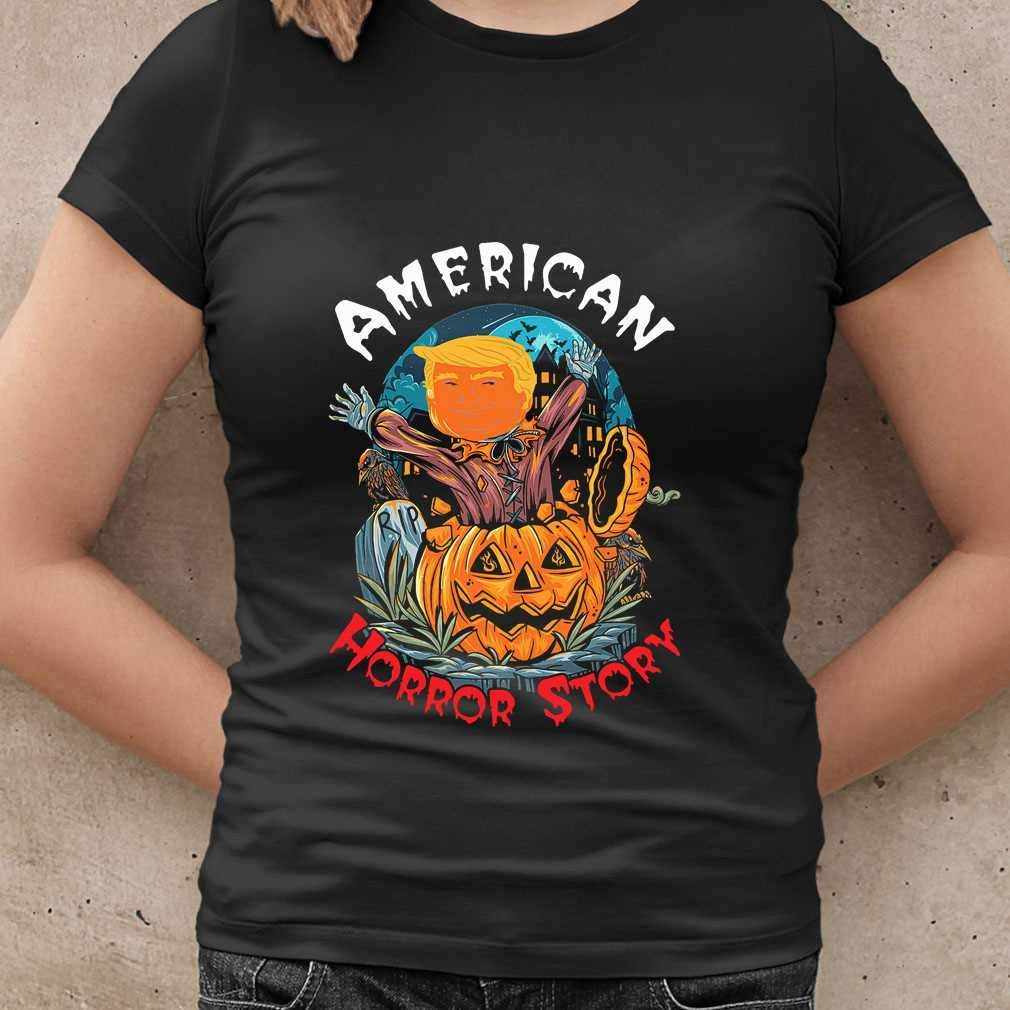 American Horror Story Donald Trump Halloween T-shirt