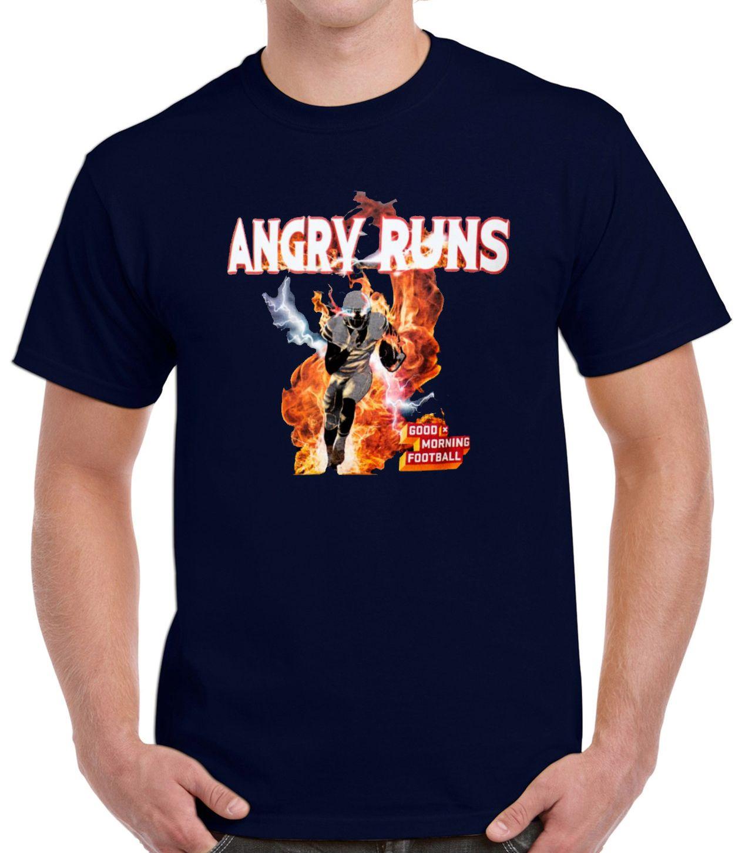 Angry Runs T-shirt Good Morning Football Shirt