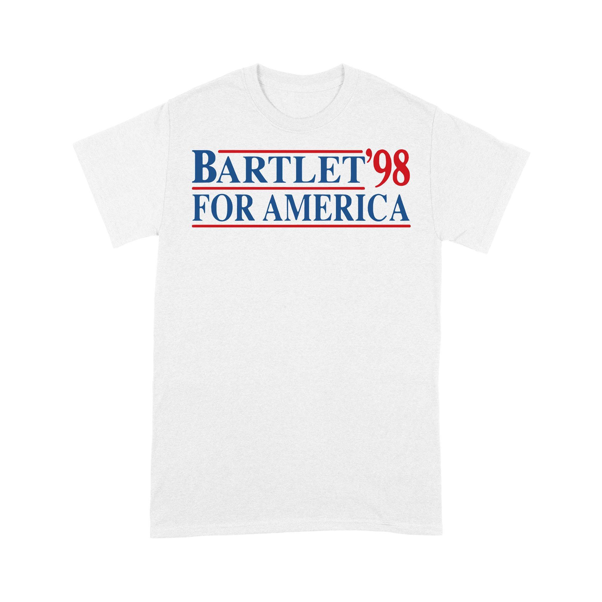 Bartlet '98 For America T-shirt
