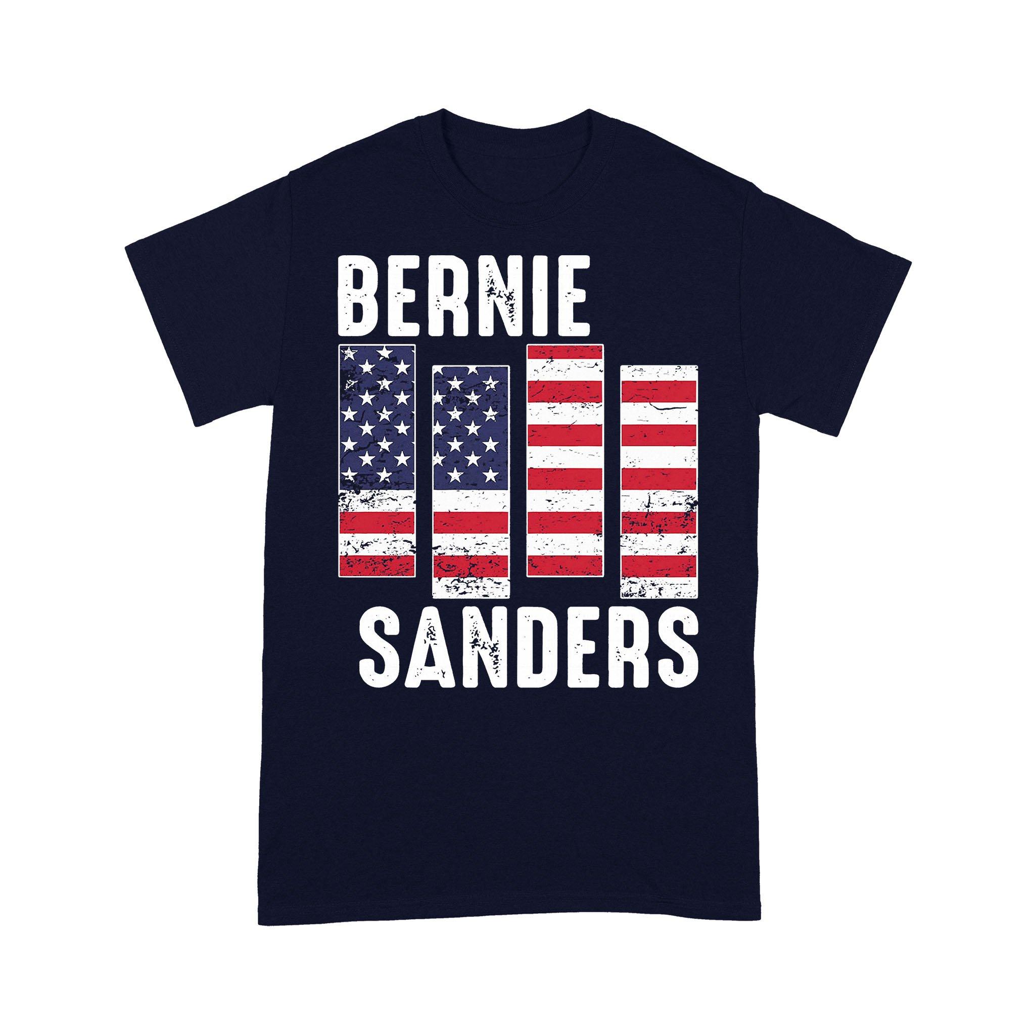 Bernie Sanders American Flag T-shirt