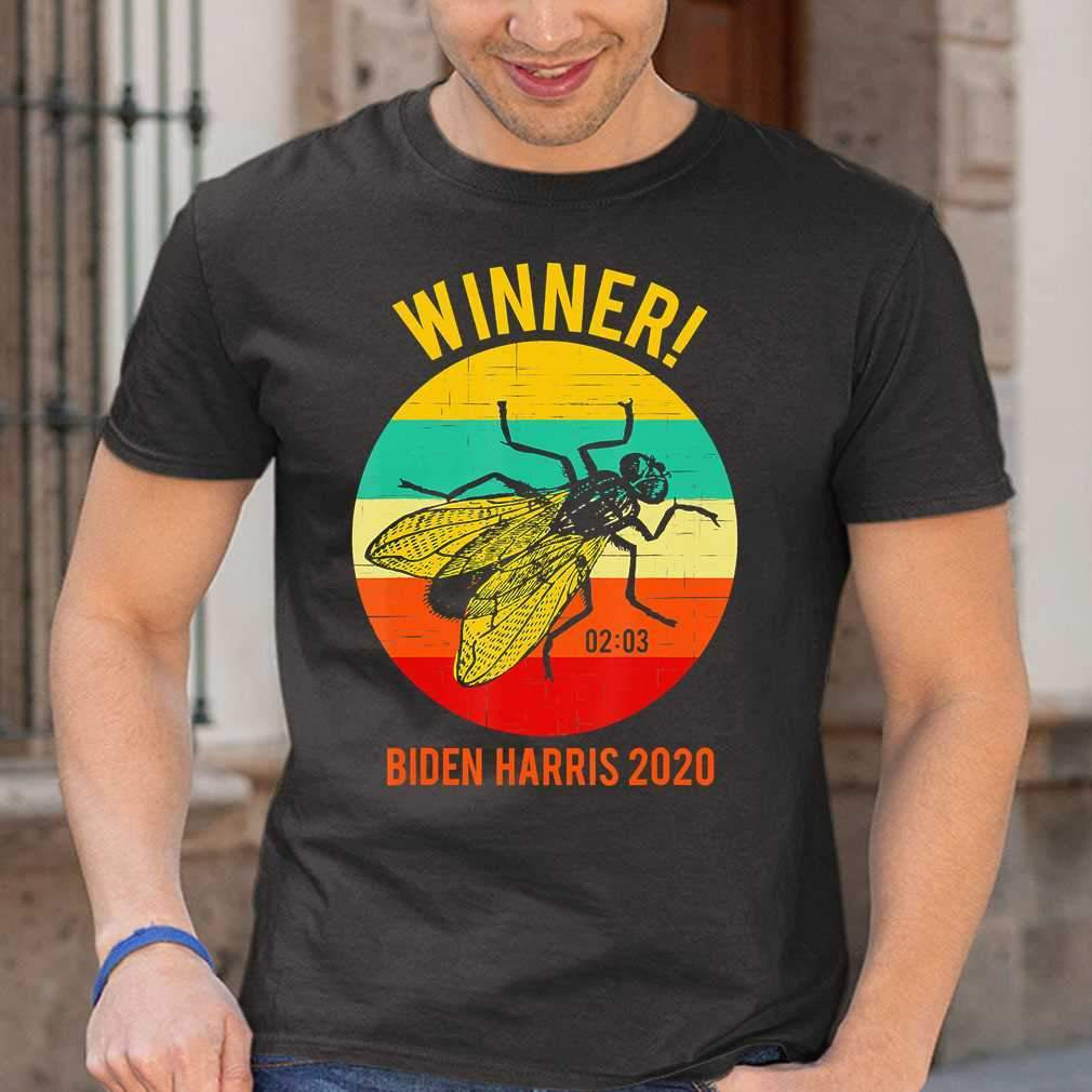 Biden-Harris Fly Winner Anti-Trump Vintage T-shirt
