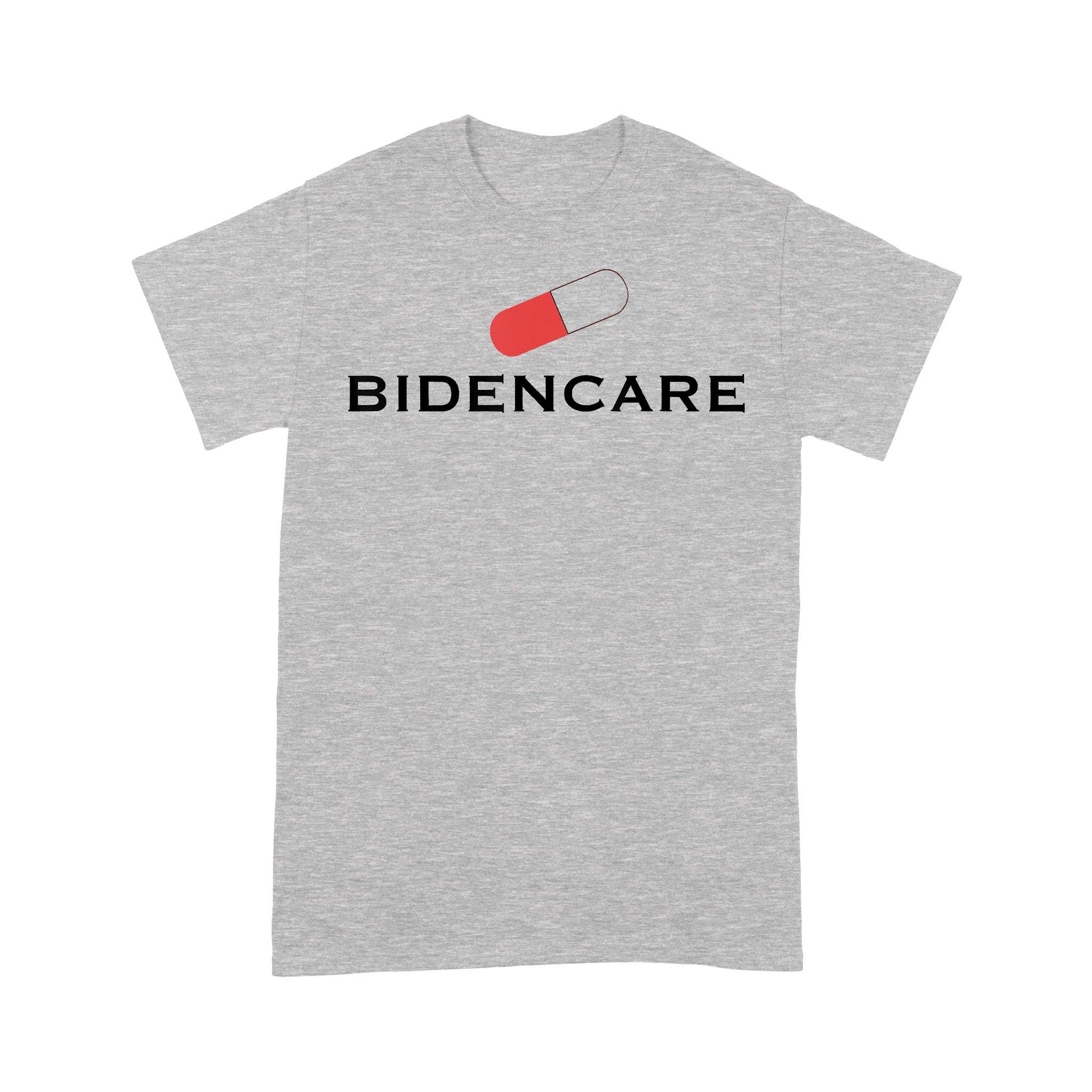 Bidencare 2020 Debate Quote Artwork T-shirt
