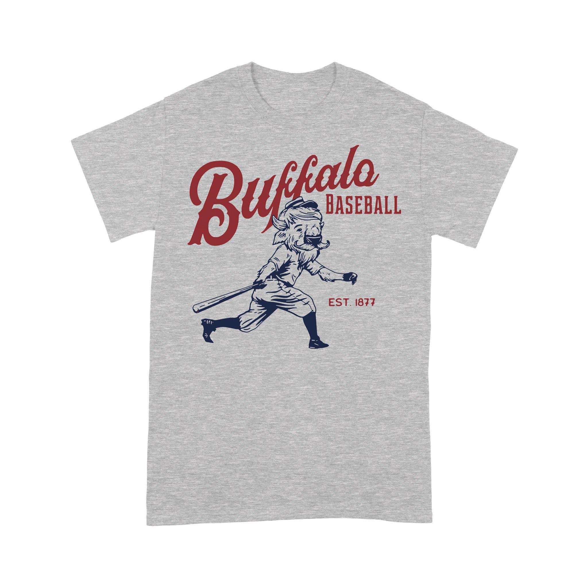 Buffalo Baseball Est 1877 T-shirt