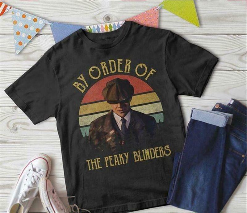 By Order Of The Peaky Blinders Vintage Black T Shirt