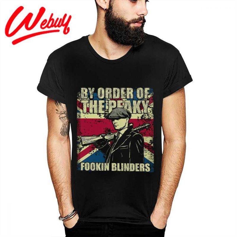 By Order Of The Peaky Fookin Blinders Peaky Blinders T Shirt Black