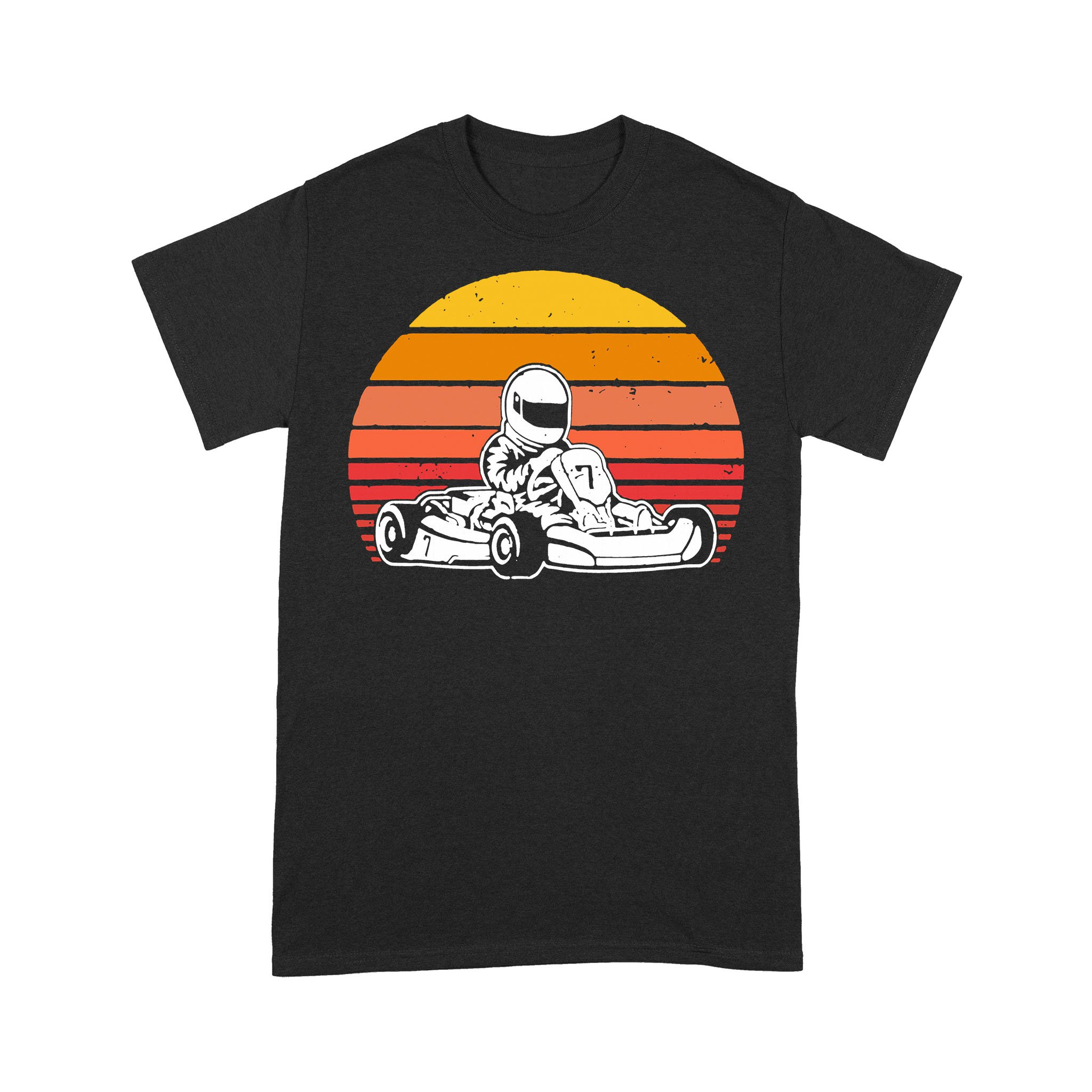 Car Racing Go-Kart Vintage T-shirt