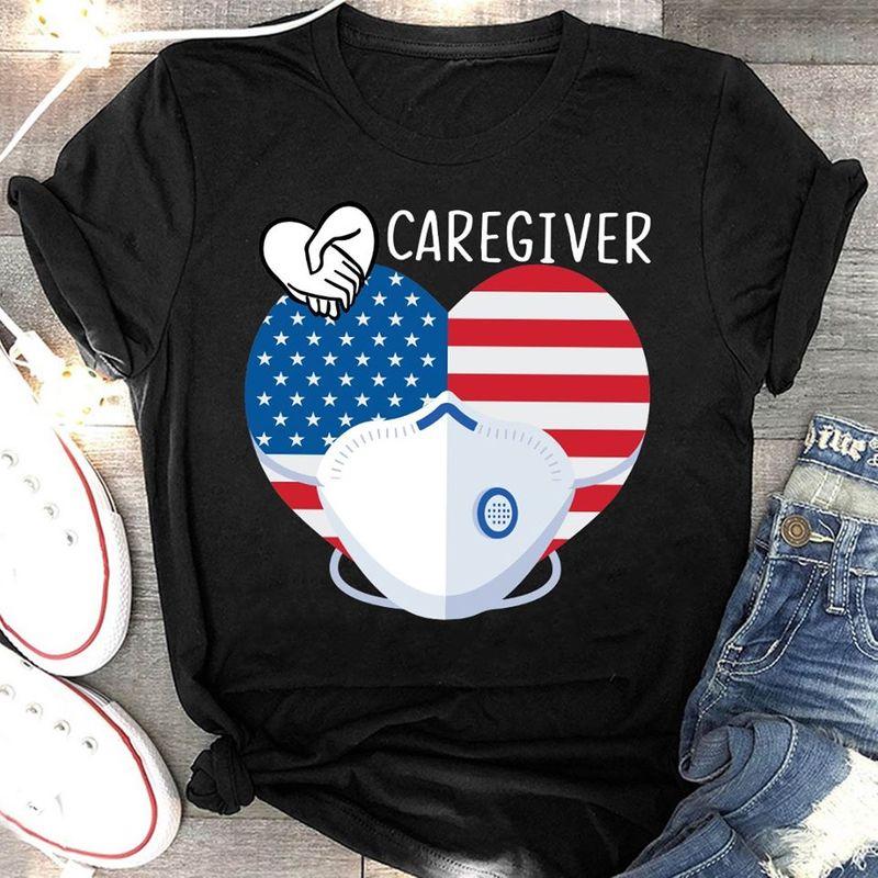 Caregiver   T-shirt Black B1