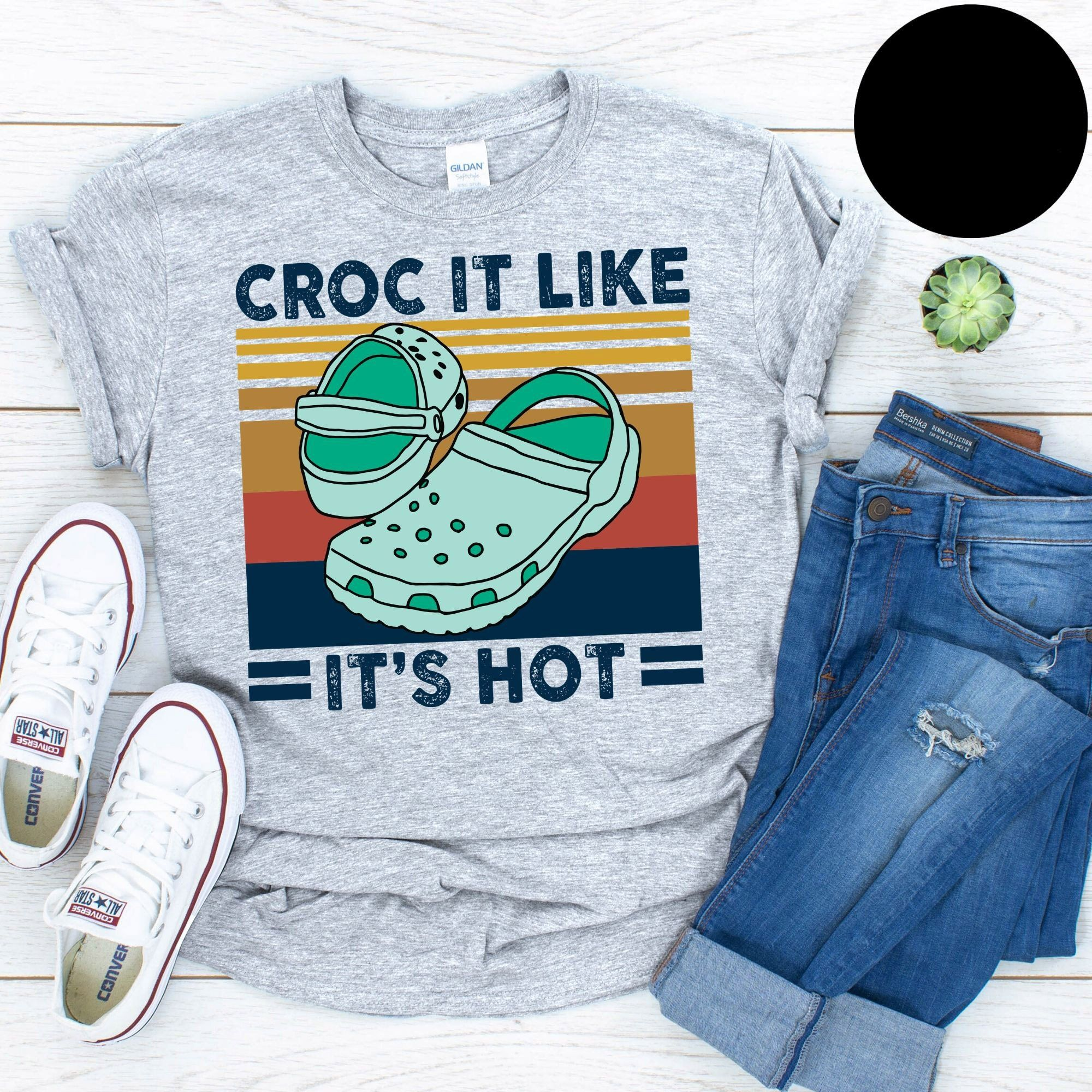 Croc It Like It���s Hot Vintage T-Shirt
