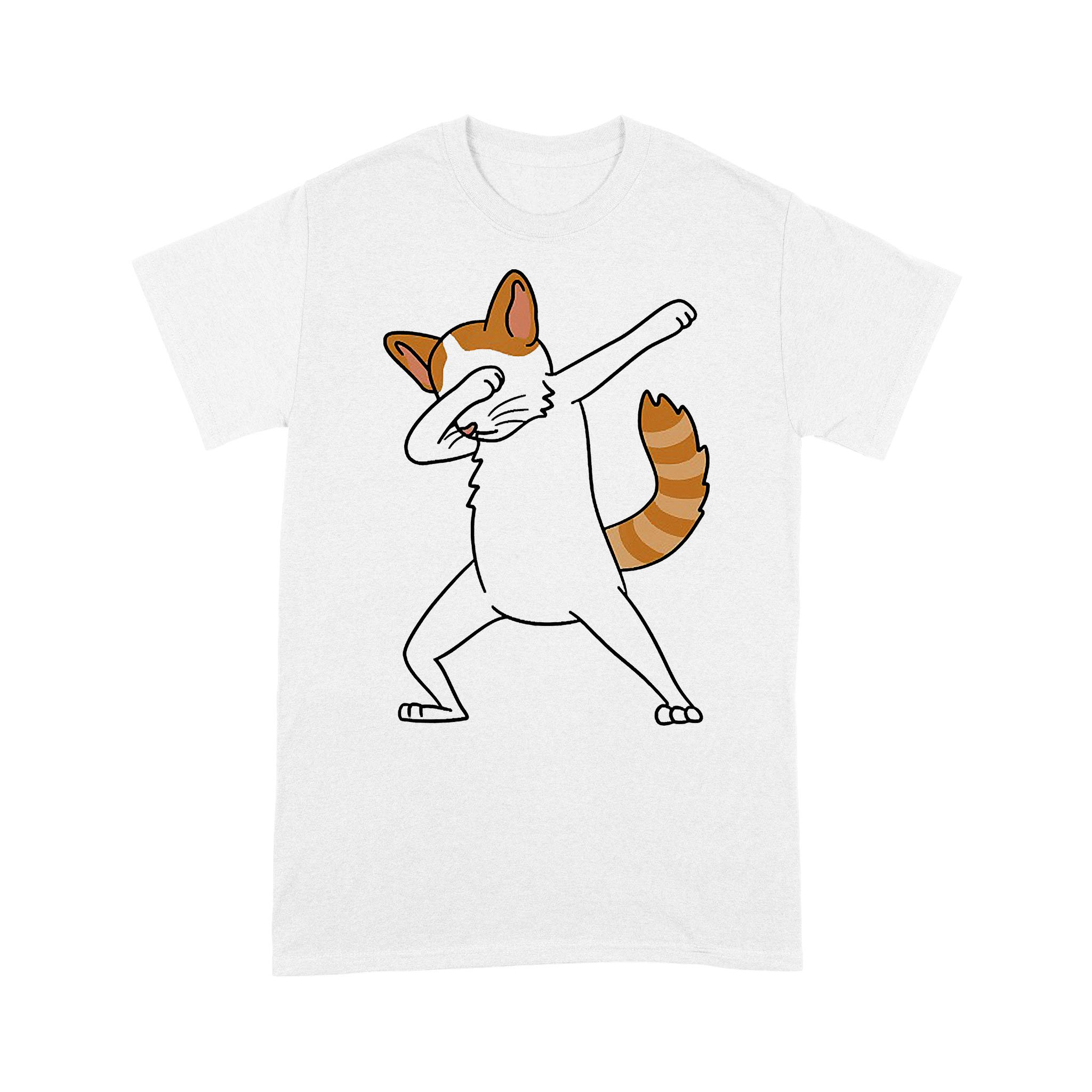 Dabbing Turkish Van Cat Dab Dance Funny Pet Gift T-shirt