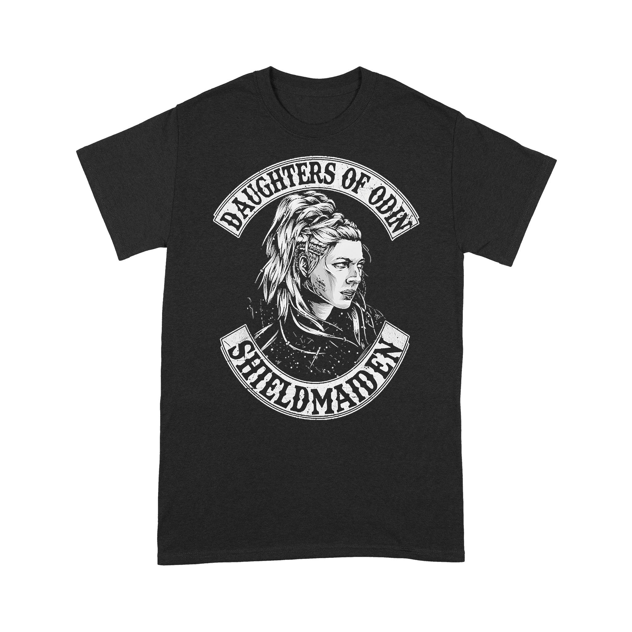 Daughters Of Odin Shieldmaiden T-shirt