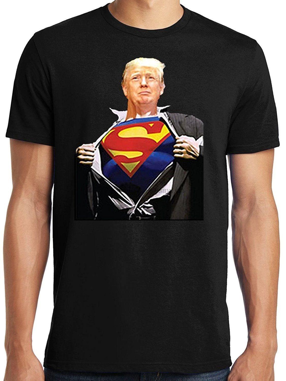 Donald Trump Superman T-shirt
