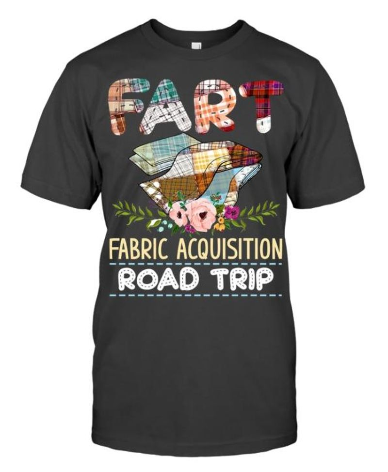 Fart Fabric Acquisition Road Trip T-shirt Grey