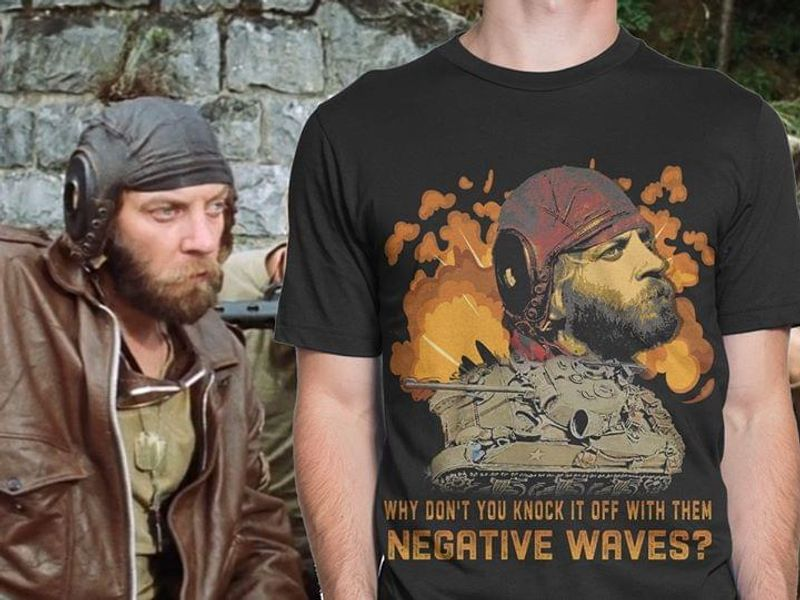Fidel Castro Why Don't You Knock It Off With Them Negative Waves Black T Shirt Men/ Woman S-6XL Cotton
