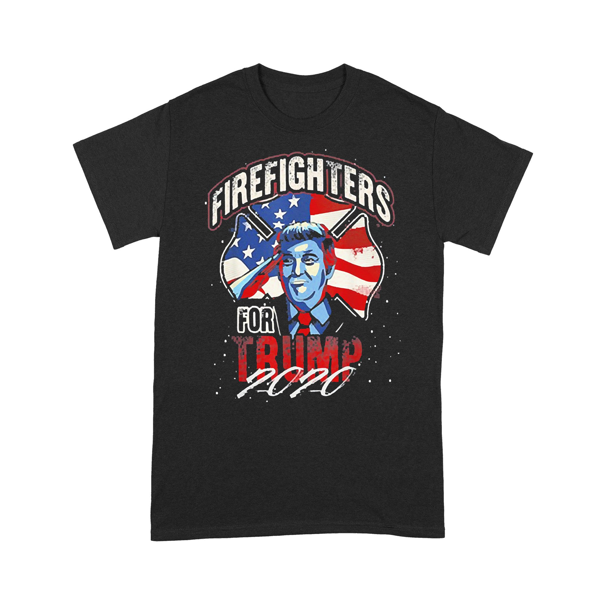 Firefighters For Trump 2020 Fire Fighter T-shirt