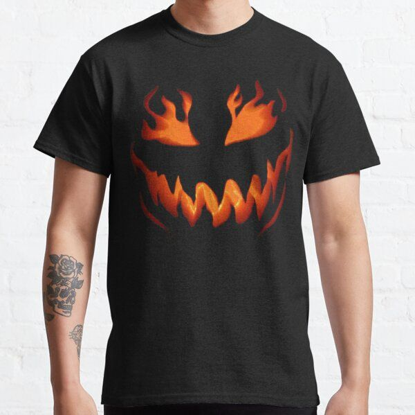Flame Halloween Cute Halloween Gift For Kids, Kid Siblings T-Shirt