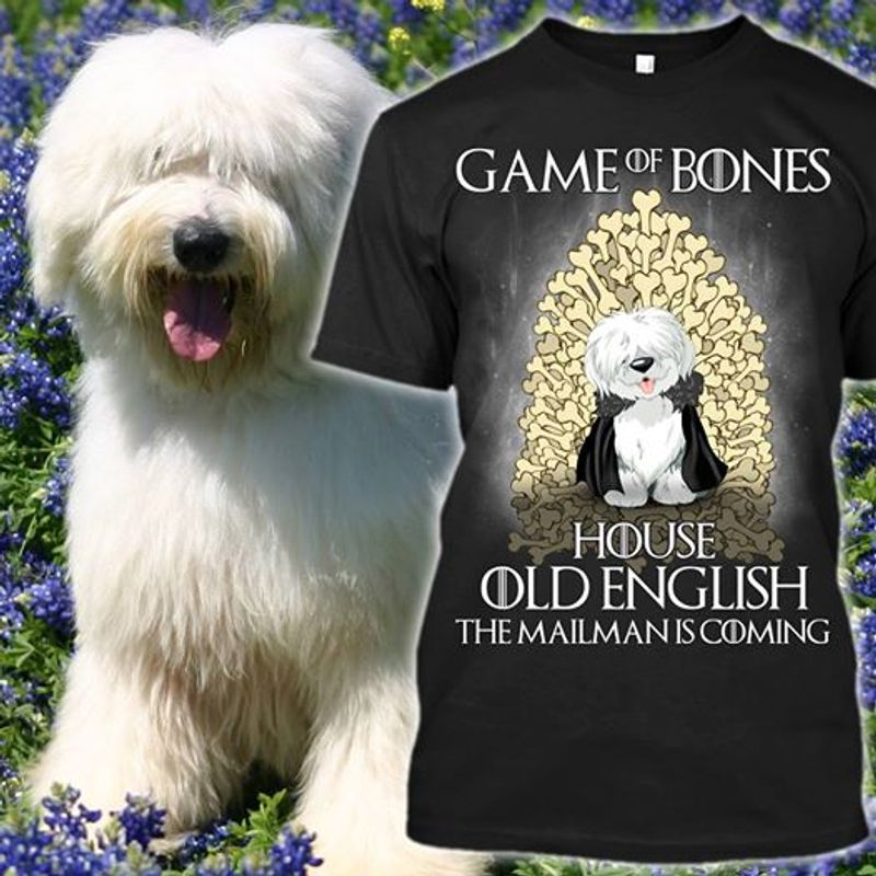 Game Of Bones House Old English The Mailman Is Coming   T-shirt Black A5