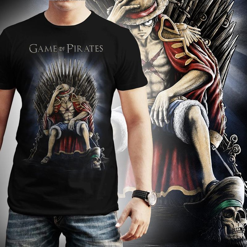 Game Of Pirates T-shirt Black A9
