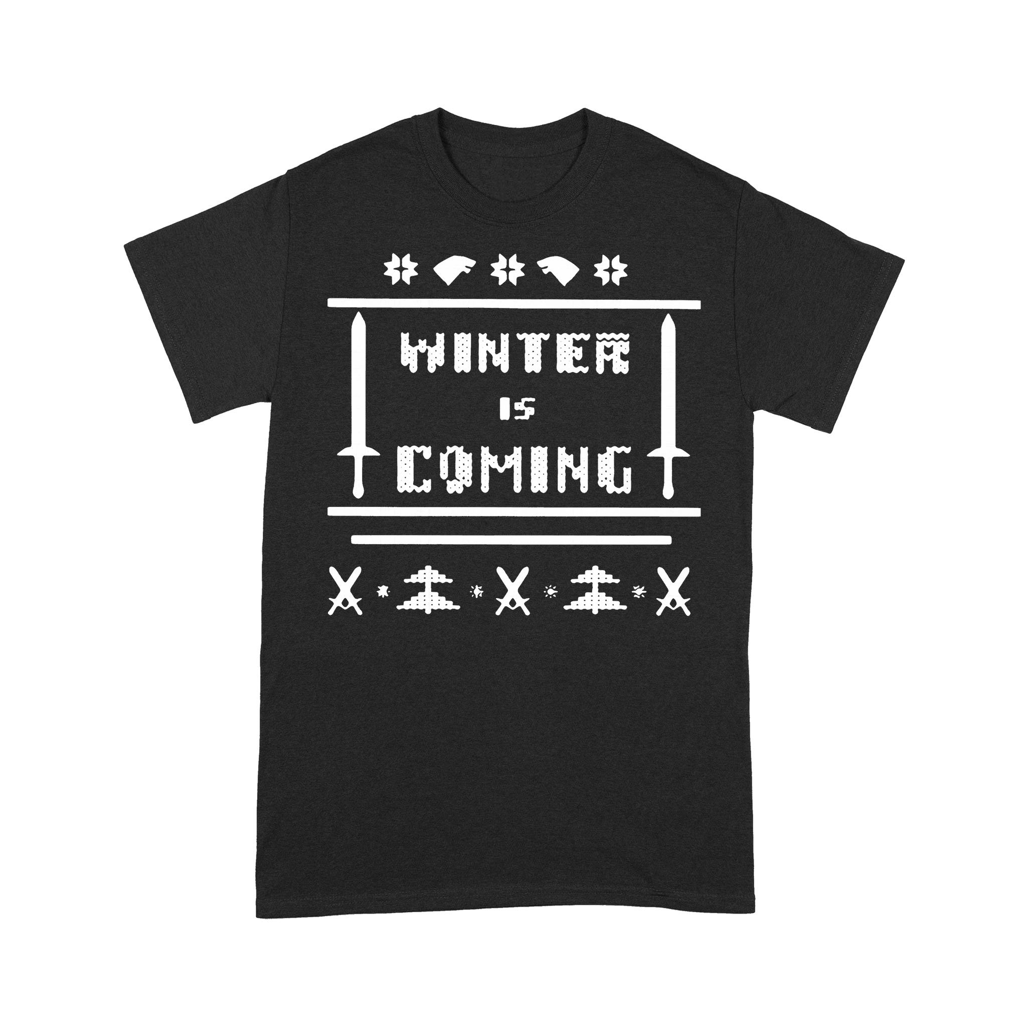 Game Of Thrones Winter Is Coming Ugly Christmas T-shirt