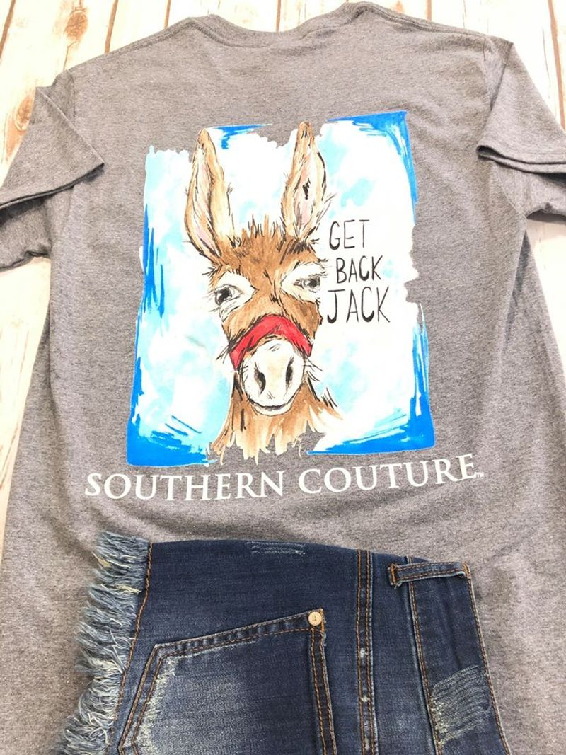 Get Back Jack Sauthern Couture T Shirt Grey A9