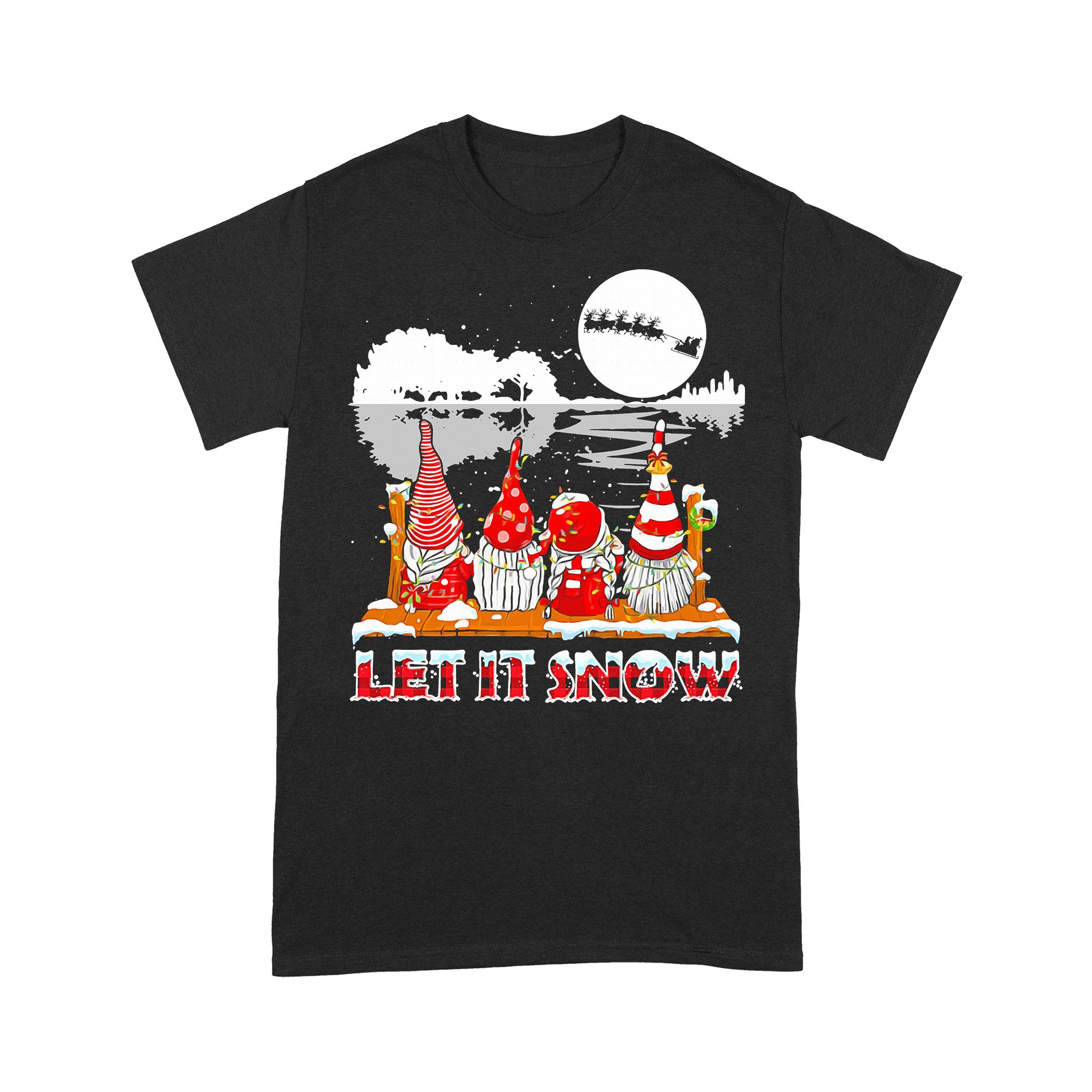 Gnomies Let Is Snow T-shirt