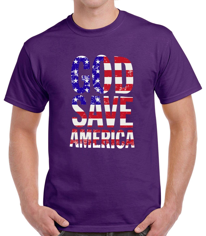 God Save America Flag T-Shirt