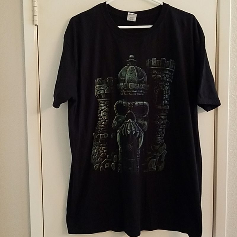 Greyskull Masters Of The Universe T Shirt Black