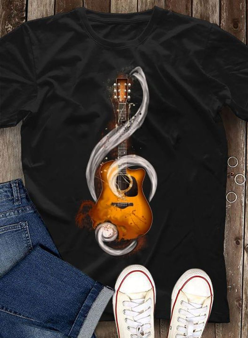 Guitar Lovers Society Music Instrument Gift For Music Lovers Black T Shirt Men And Women S-6XL Cotton