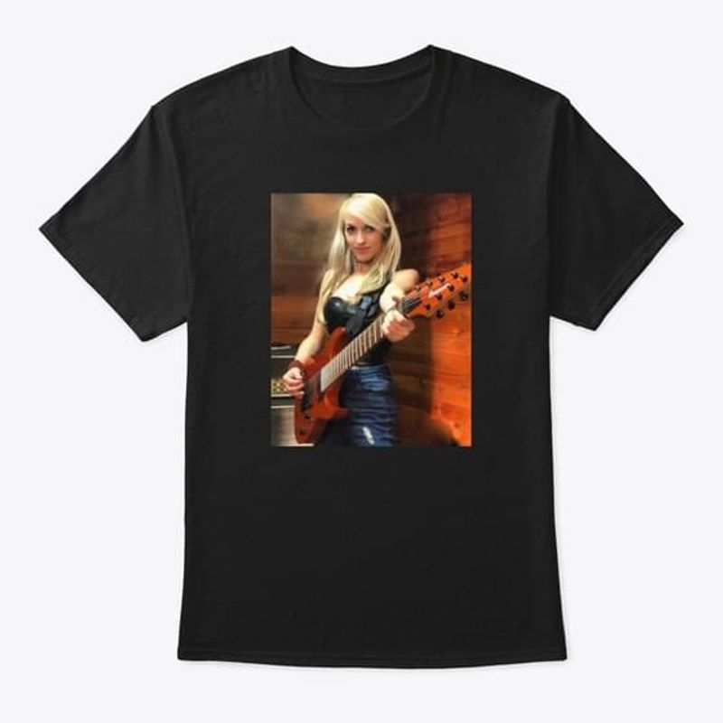 Guns N' Roses Emily Hastings Guitarist T-Shirt Best Shirt For Emily Hastings Fans Black T Shirt Men And Women S-6XL Cotton