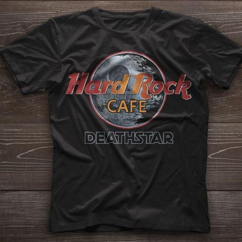 Hard Rock Cafe Deathstar T Shirt Black