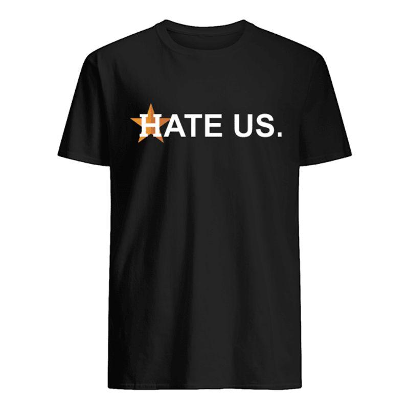 Hate Us T-shirt Black A8