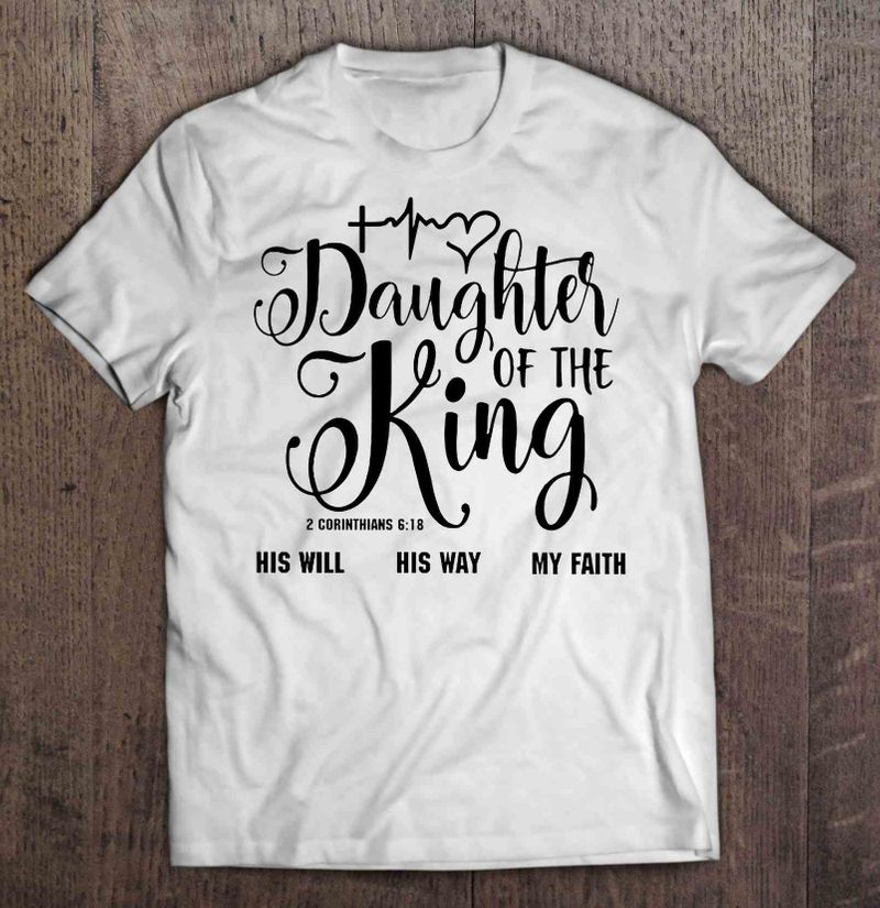 Heartbeast Daughter Of The King T-shirt White