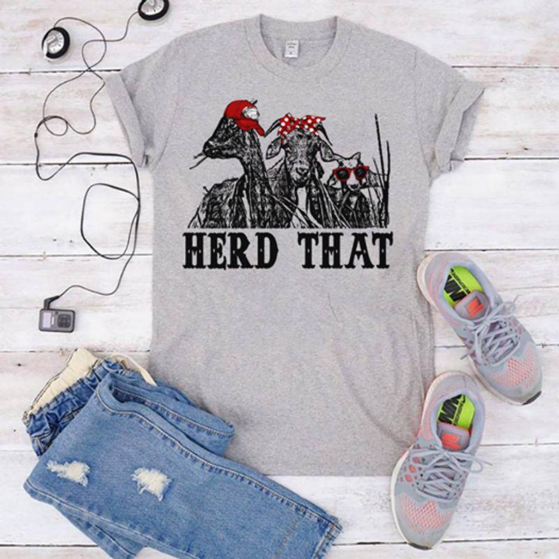 Herd That  T Shirt White B1