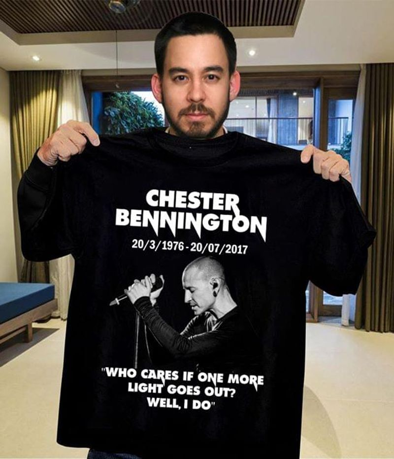 Hester Bennington Who Cares If One More Light Goes Out Well I Do T Shirt Men/ Woman S-6XL Cotton