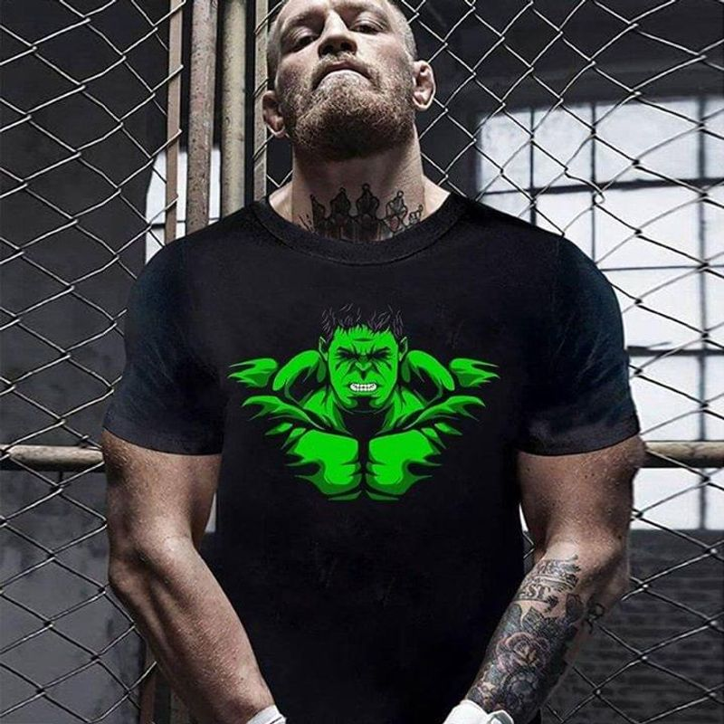 Hulk The Most Powerful Heroes Of The Marvel Cinematic Universe Black T Shirt Men/ Woman S-6XL Cotton