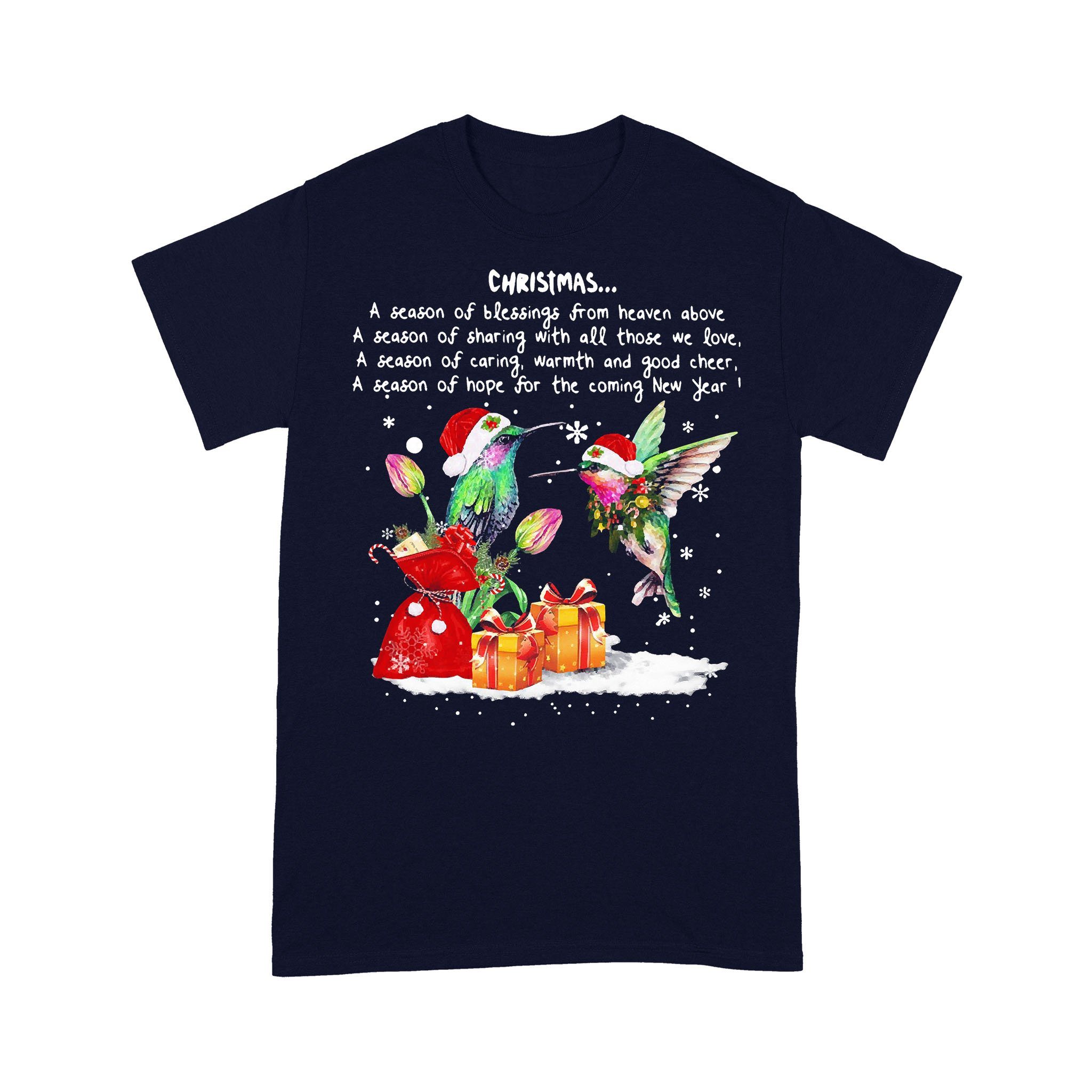 Hummingbird Christmas A Season Of T-shirt