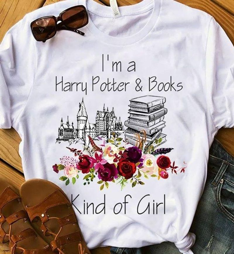 I'm A Harry Potter & Books Perfect Gift For Book & Harry Potter Lovers White T Shirt Men And Women S-6XL Cotton