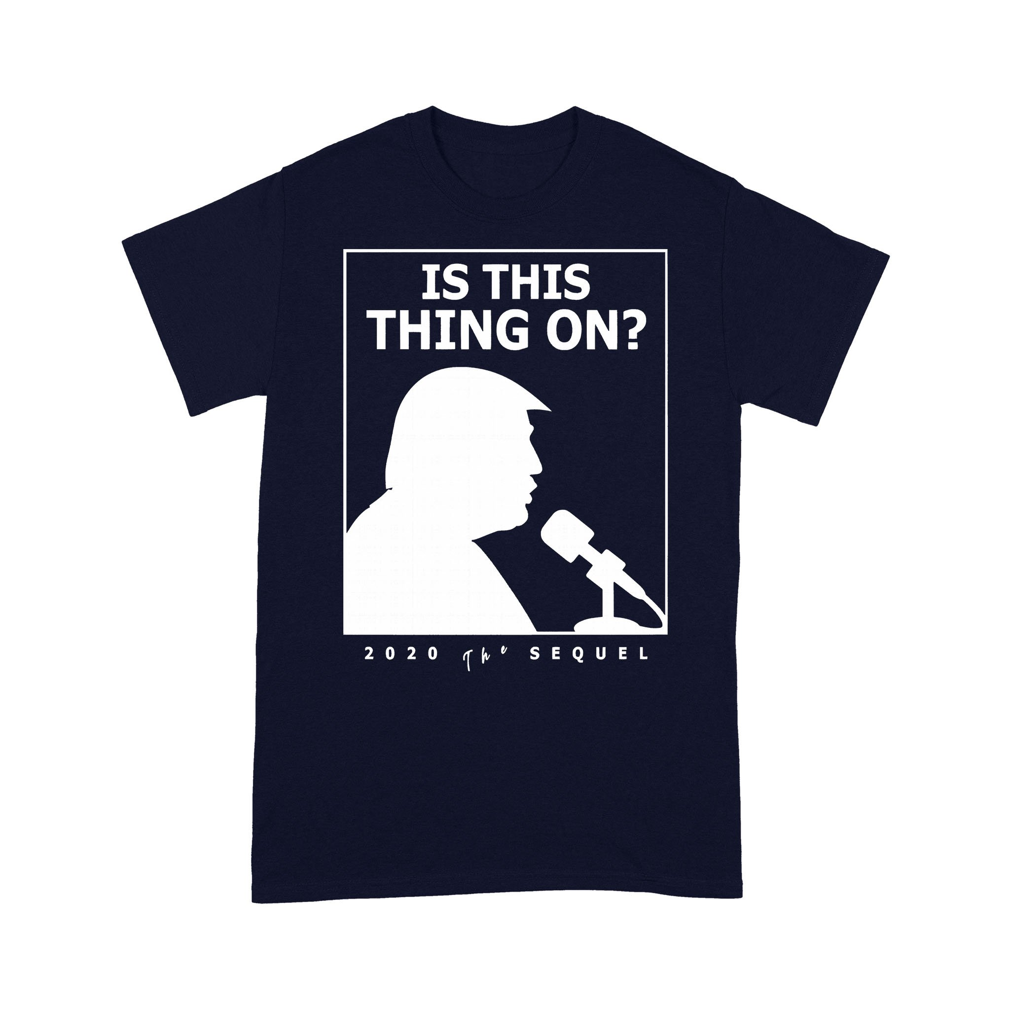 Is This Thing On Trump Presidential Debate 2020 T-shirt