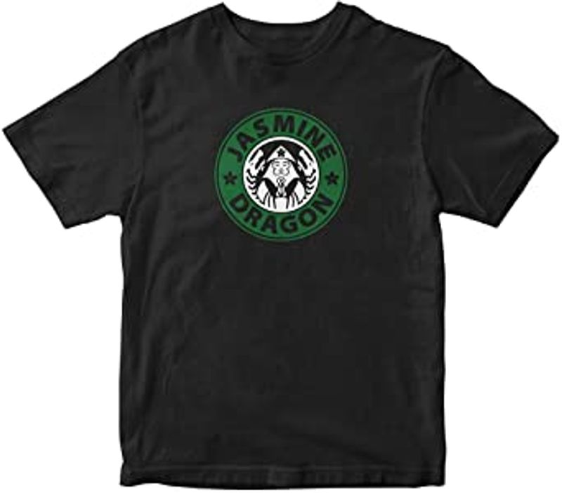 Jasmine Dragon T-shirt T-shirt Black