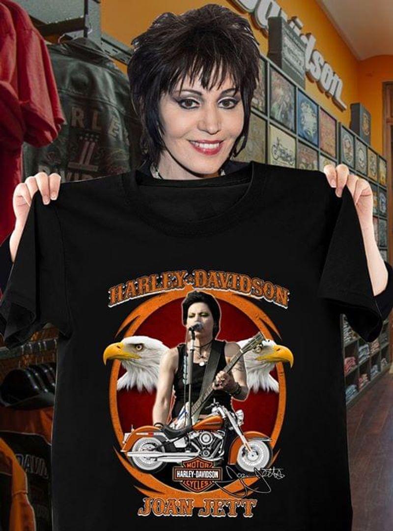 Joan Jett Harley Davidson T Shirt S-6XL Mens And Women Clothing