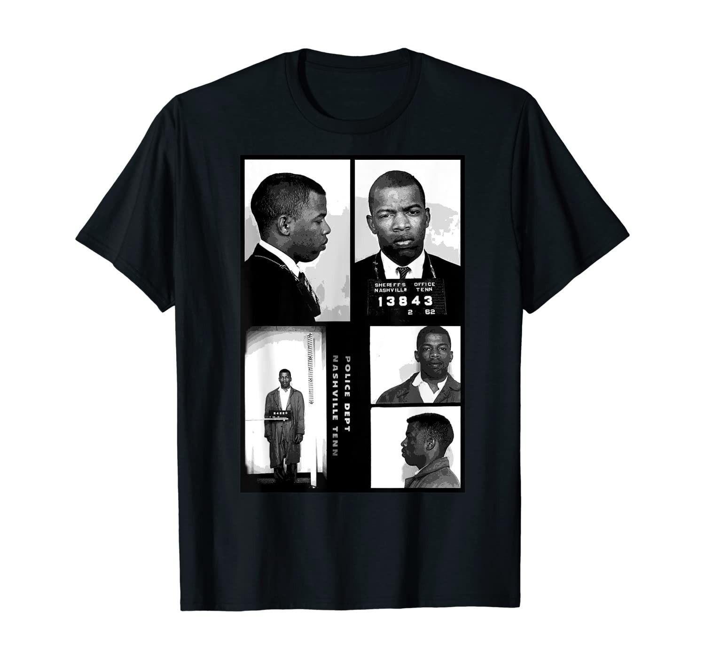 John Lewis Mugshot T-Shirt
