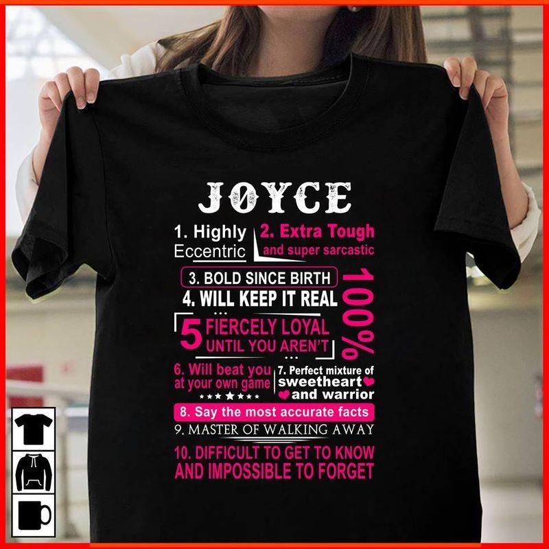 Joyce Highly Extra Tough T-shirt Black