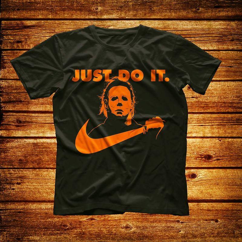 Just Do It T-shirt Black B7