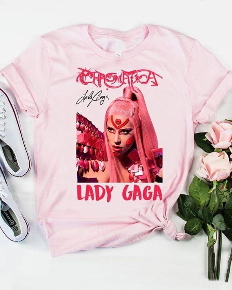 Lady Gaga Chromatica T Shirt S-6XL Mens And Women Clothing