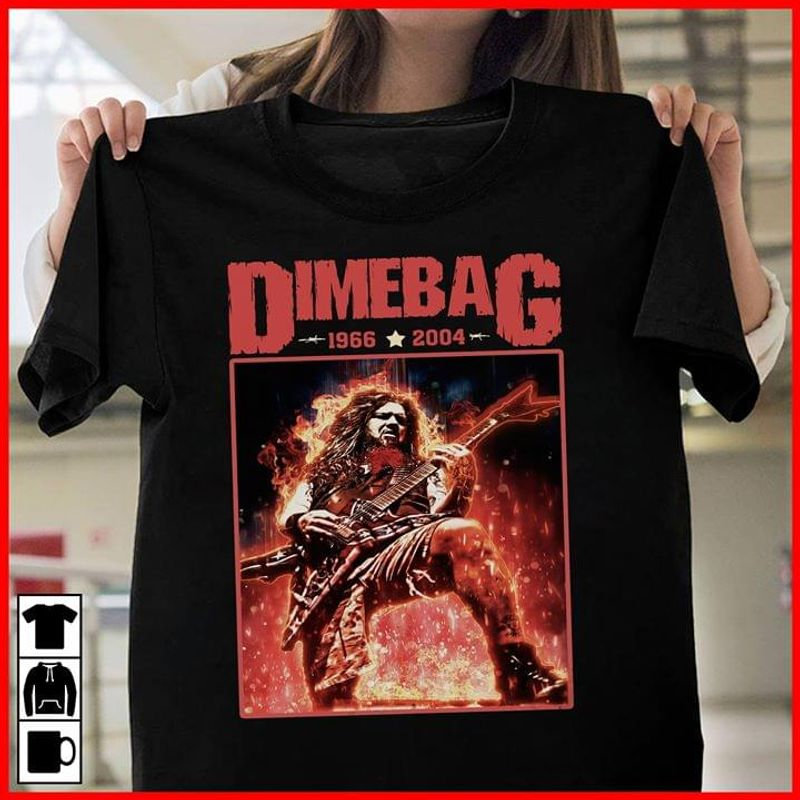 Legend Dimebag Darrell Black T Shirt Men/ Woman S-6XL Cotton
