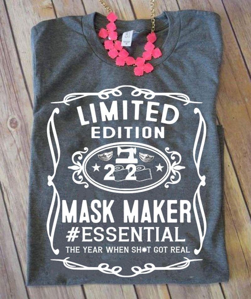 Limited Edition 2020 Maker Essential T-shirt Grey A8